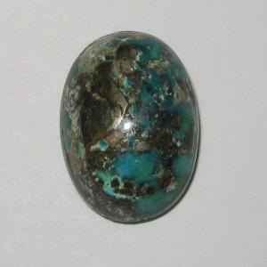 Natural Chrysocolla 24.71 carat (Batu Bacan)