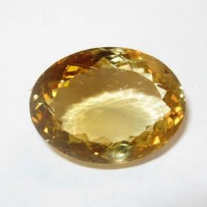 Batu Permata Citrine Quartz 12.84 carat
