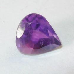 Pear Heart Dark Violet Amethyst 2.60 carat