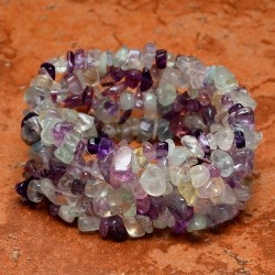 Gelang Fluorite Stretchy