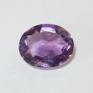 Medium Purple Amethyst Oval 3.90 carat