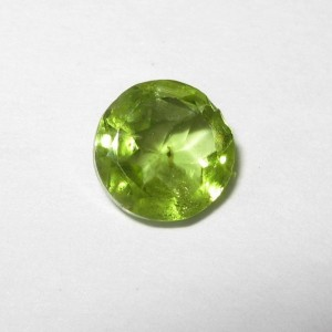 Fancy Round Peridot 0.90 carat