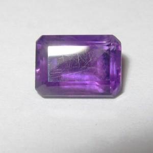 Purple Amethyst Rectangular 1.10 carat