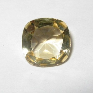 Light Yellow Citrine Cushion 1.75 carat