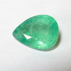 Pear Shape Emerald 0.95 carat dari Brazil