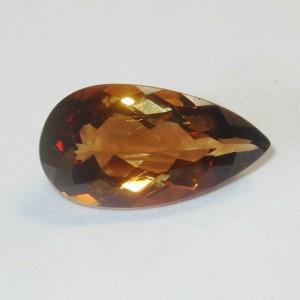 Imperial Topaz Pear Shape 8.00 carat