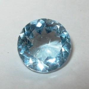 Round Sky Blue Topaz 2.10 carat