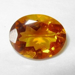 Orange Madeira Citrine Oval 2.74 carat