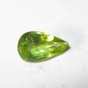 Pear Shape Peridot 0.65 carat