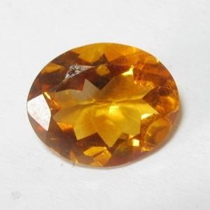 Citrine Madeira Orange Oval 2.65 carat
