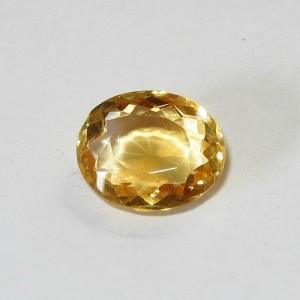 Yellow Citrine Oval 6.05 carat