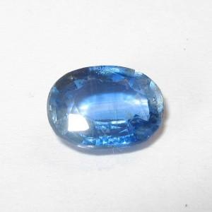 Kyanite Biru Bening Oval 1.28 carat