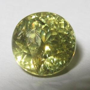Grossular Garnet Hijau Round 2.28 carat