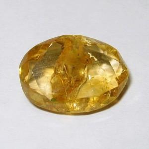 Citrine Kuning Serat Antik 4.75 carat