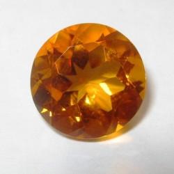 Madeira Round Citrine 2.48 carat