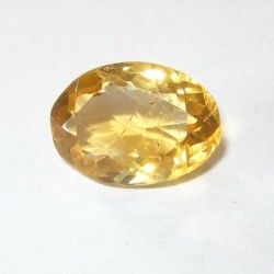 Yellow Golden Citrine Oval 5.55 carat