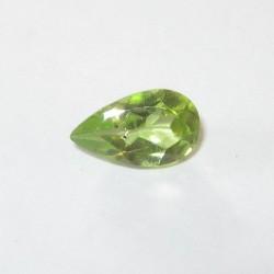 Pear Shape Peridot 0.85 carat