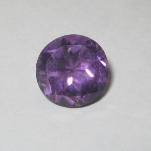 Round Purple Amethyst 2.75 carat