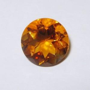 Citrine Madeira Round 2.37 carat