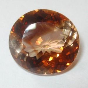Batu Permata Imperial Topaz Round 13.40 carat