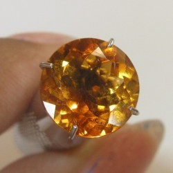 Round Citrine Madeira 2.49 carat