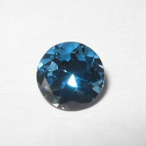 Round 6mm London Blue Topaz 1.05 carat