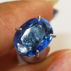 Kyanite Biru Berserat 1.59 carat