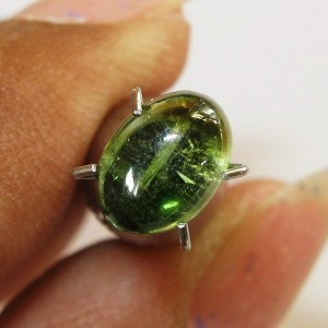 Yellowish Green Tourmaline 1.12 carat