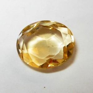 Batu Permata Yellow Citrine 1.90 carat