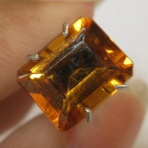 Citrine Madeira Rectangular 2.08 carat