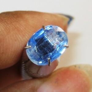 Batu Mulia Natural Kyanite Oval 1.28 carat