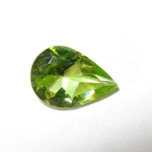 Pear Shape Peridot 0.55 carat