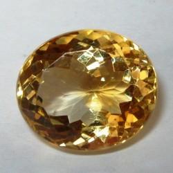 Yellow Golden Citrine 8.18 carat