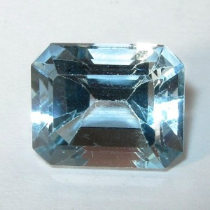 Sky Blue Topaz Rectangular 6.34 carat