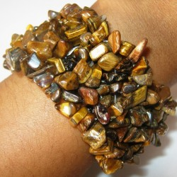 Gelang Batu Tiger Eye Stretchy