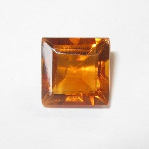 Orange Madeira Rectangular Citrine 1.57 carat