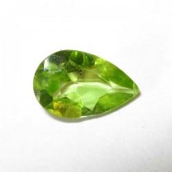 Pear Shape Peridot 0.80 carat