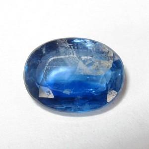 Permata Kyanite Biru Bening 1.54 carat
