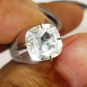 Cushion White Topaz 1.20 carat