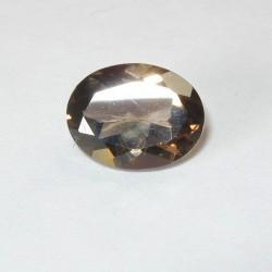 Batu Permata Smookey Quartz Oval 1.60 carat