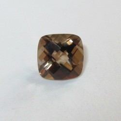 Cushion Buff Top Smoky Quartz 1.40 carat