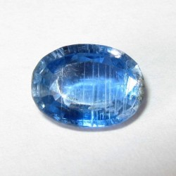 Batu Permata Natural Blue Kyanite Oval 1.27 Carat