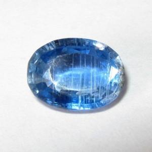 Batu Permata Natural Blue Kyanite Oval 1.27 Carat