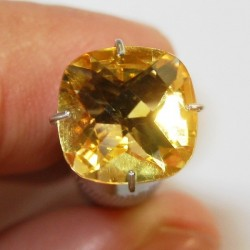 Cushion Yellow Citrine 1.84 carat