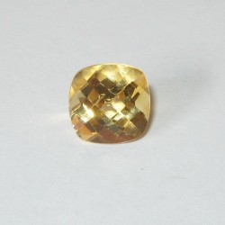 Citrine Yellow Cushion 2.13 carat