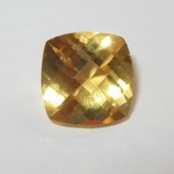 Cushion Buff Top Citrine 1.98 carat