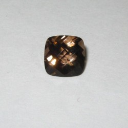 Brown Cushion Smoky Quartz 1.34 carat