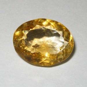 Citrine Kuning Terang Oval 9.25 carat