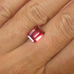 Pyrope Rectangular Garnet 2.50 carat