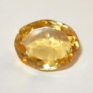 Light Yellow Golden Citrine 6.20 carat